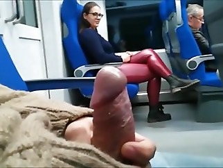 flashing amateur handjob