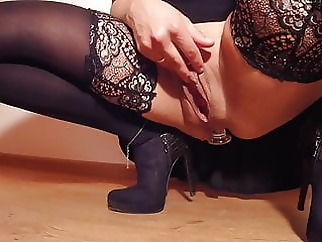squirting anal stockings